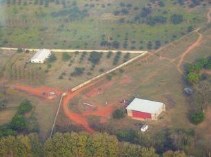 Arial view of Hangar
