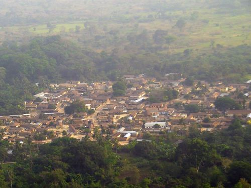 Arial view of Tsiko