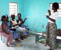 Teaching literacy in Anufo