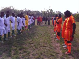ALMA soccer match