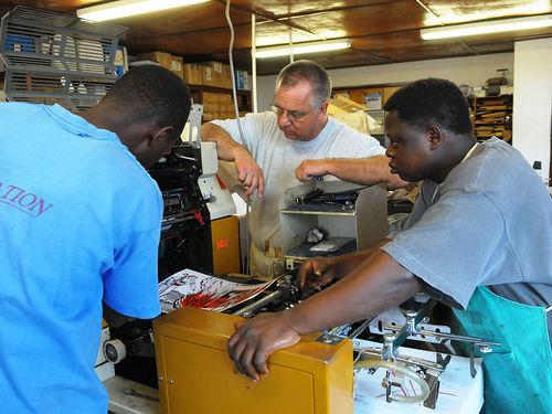 Repairing the press