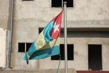 Flag at the Bé school