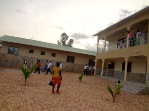 The Bible Institute students took a tour of the new facilities