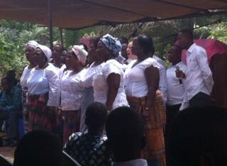 Tsiko church choir
