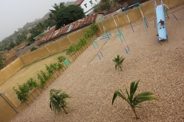 Playground and yard of Grace Children's Home