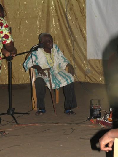 Papa Todigan giving his testimony