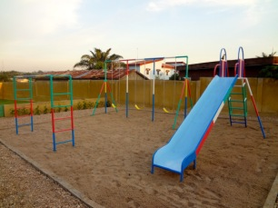 View of the playground