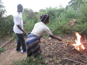 Yawa burning her idols