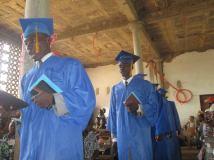 2015 Graduation of Bible Institute students!