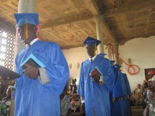 2015 Graduation of Bible Institute students!