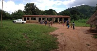 The VBS was held at the local public school building