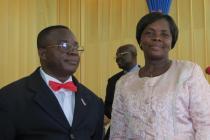 Joseph and Francisca Akakpo