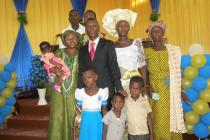 Pastor Bernard and his family