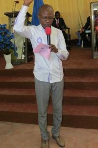 SERVANT MAROUF PROMISING TO THE CHURCH